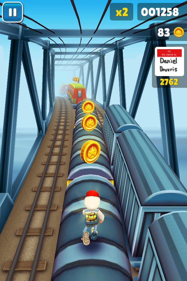 Endless Running Hits The Tracks In Subway Surfers
