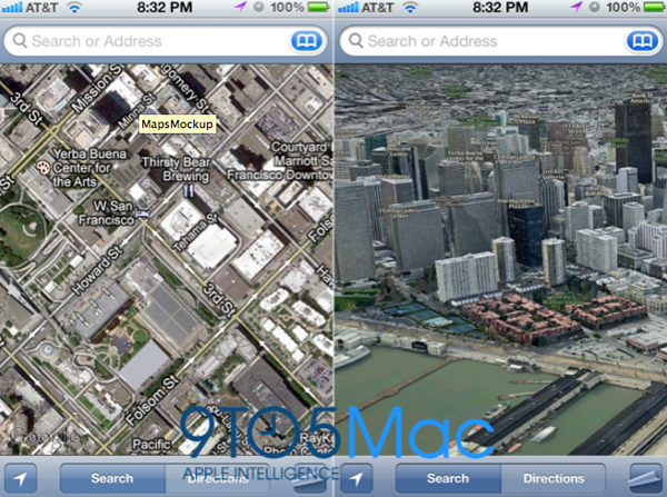 Apple To Drop Google, Provide Own Map Data In iOS 6