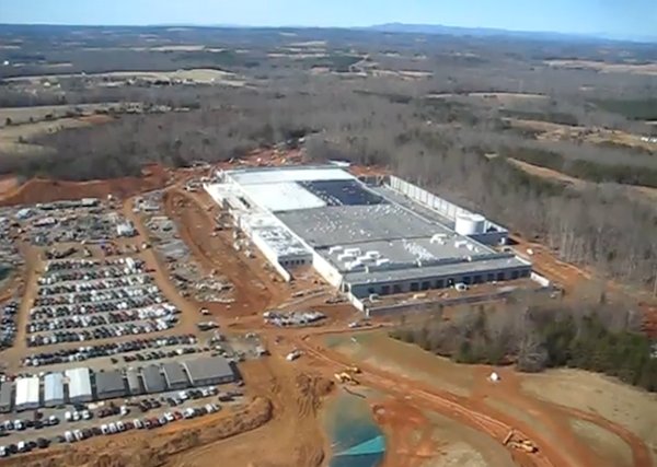 Apple's North Carolina Data Center Will Be Totally Green By The End Of 2012