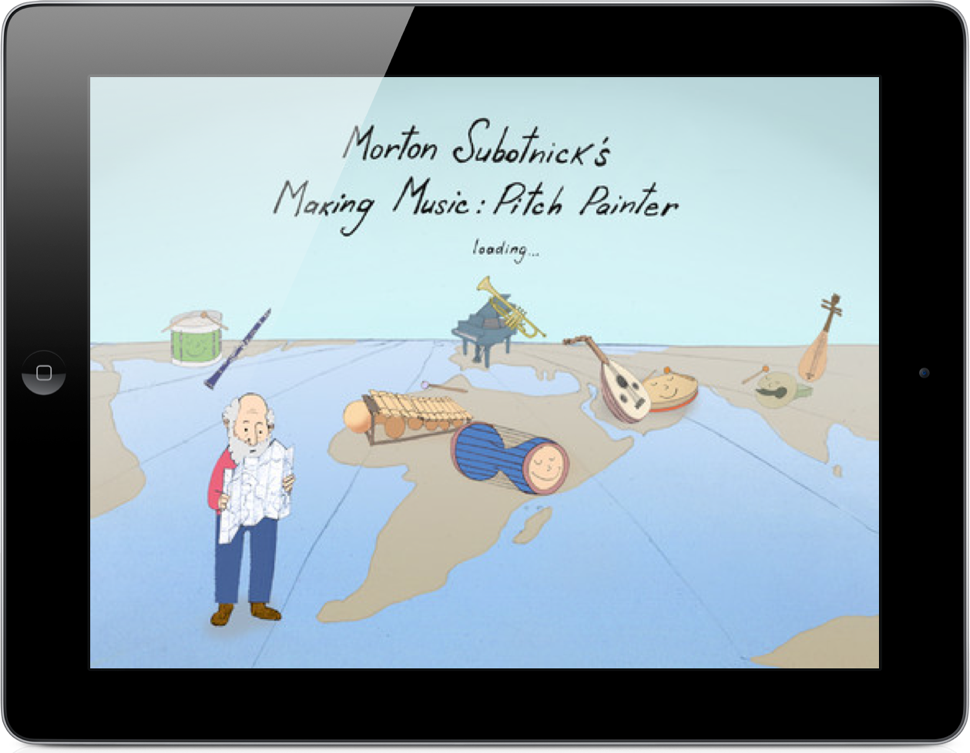 Morton Subotnick's Pitch Painter App For iPad Introduces Music Composing to Preschoolers