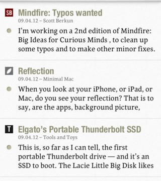 Slow Feeds RSS Reader Keeps Feeds From Getting Lost