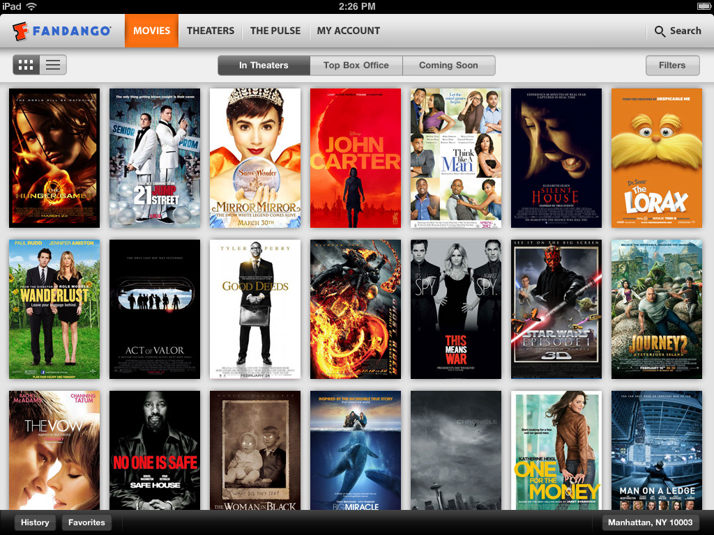 Fandango v1.7 Brings Retina Display Support And More