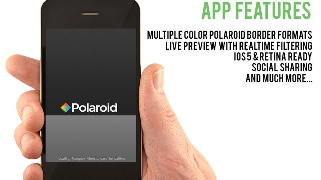 Add Polaroid Digital Camera App To Your Arsenal Of Retro Photo Apps