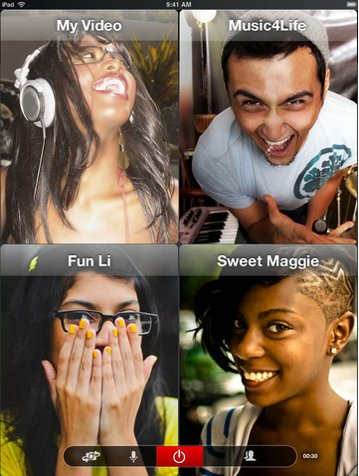 New ooVoo Update Brings 12-Way Video Calling To Your iOS Device