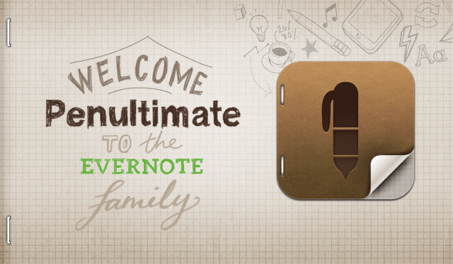 Evernote Buys Penultimate