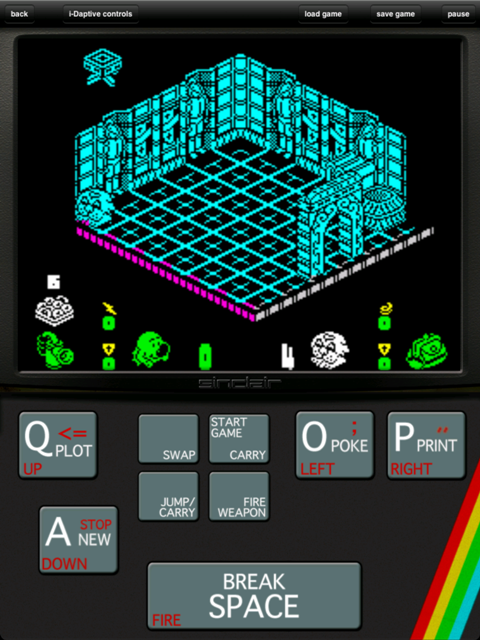 Head Over Heels: ZX Spectrum HD Drops Through Floor And Lands In The App Store