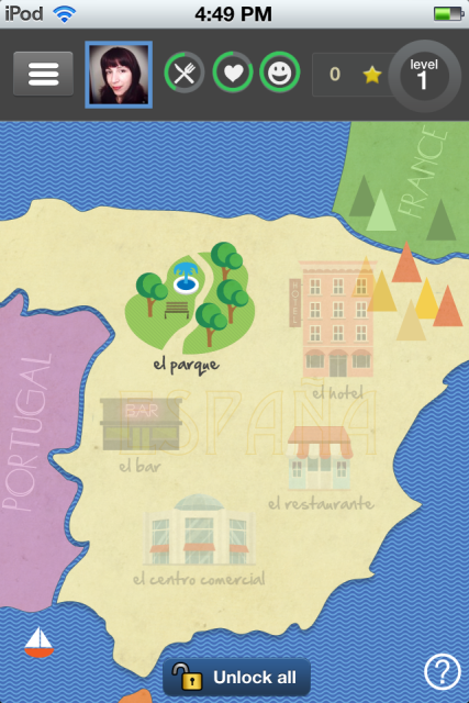 PlaySay Spanish Puts You In Touch With A Spanish Speaking Friend Who Wants To Learn English