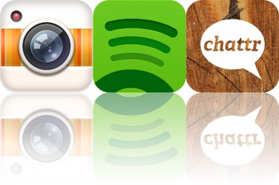 AppAdvice Daily: Spotify, Gifture, And Chattr