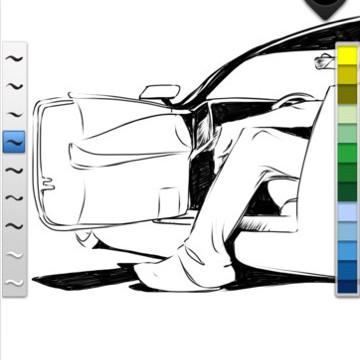 New SketchBook Ink App Built On Resolution Independent Engine