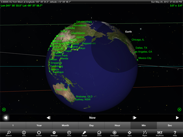 Sky Safari 3 On Sale, Packed With New Features To Mark Tomorrow's Solar Eclipse