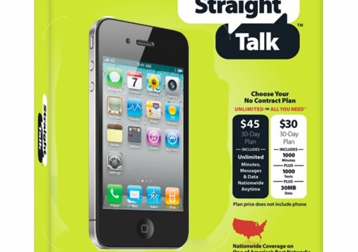 Straight Talk: Talk About A Cheap iPhone Plan!