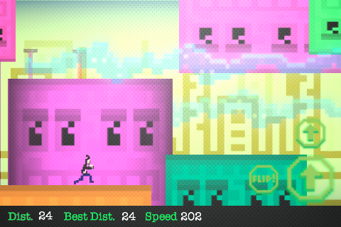 Super Flip Runner: How Far Can You Go?