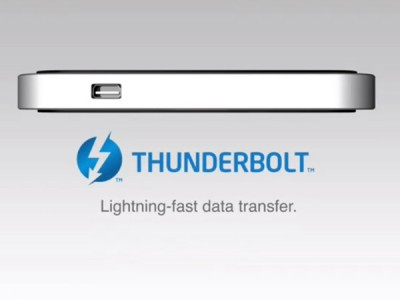 Thunderbolt Technology Could Arrive On Next iPhone