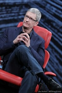 Tim Cook Talks Steve Jobs, Siri, TV At D10