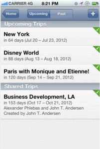 TripIt Update Features Retina iPad Display Support