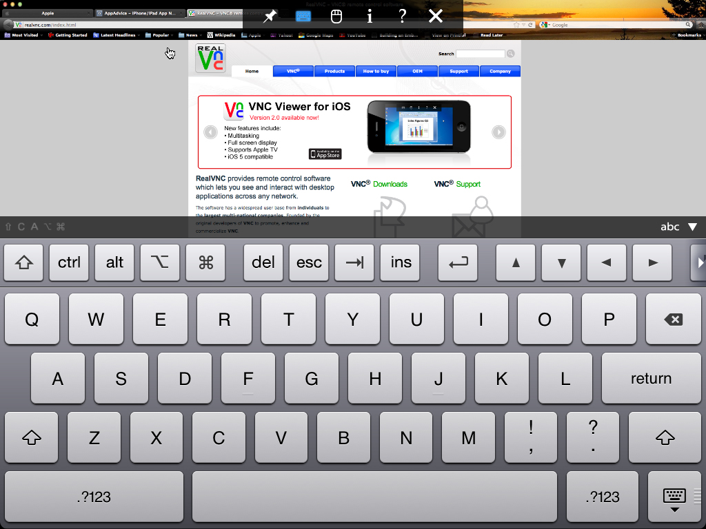 VNC Viewer For iOS Now Has iPad Retina Display Support, Plus Toolbar And Keyboard Tweaks