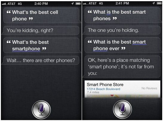 Siri Has A Change Of Heart, No Longer Loves Nokia's New Smartphone