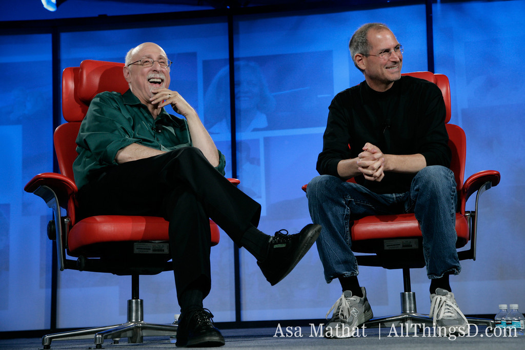 All Six Of Steve Jobs' D Conference Discussions Available Free On iTunes