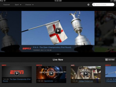 Apple Trying To Bring WatchESPN App Directly To Apple TV