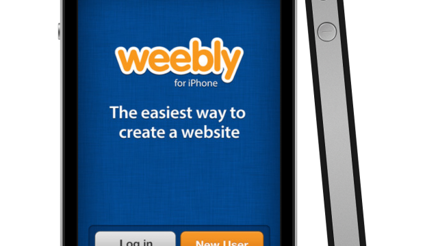 Weebly Arrives On iPhone