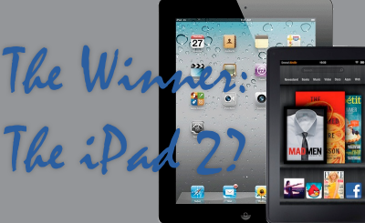 Is The iPad 2 What Slowed The Kindle Fire?