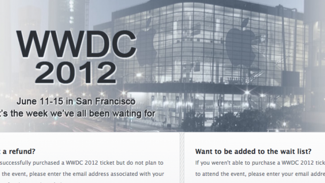Game Developer Launches WWDC Waiting List Site