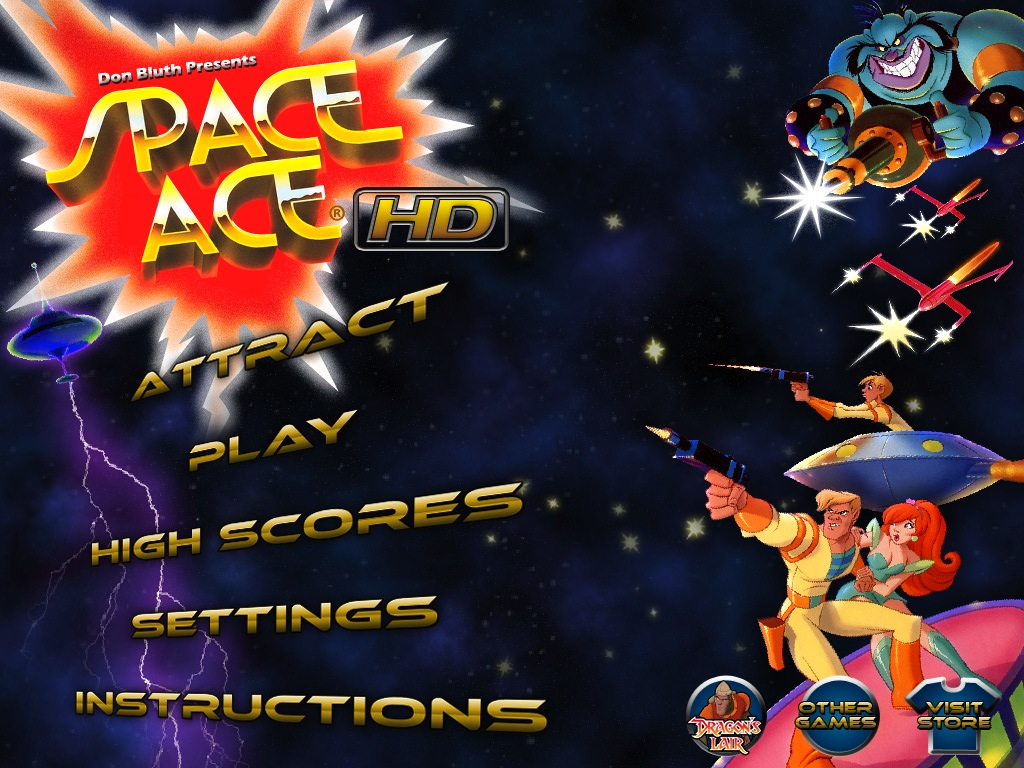 Space Ace HD Now Available In The App Store