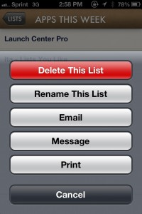 Ita – Lists You Like by Nice Mohawk screenshot