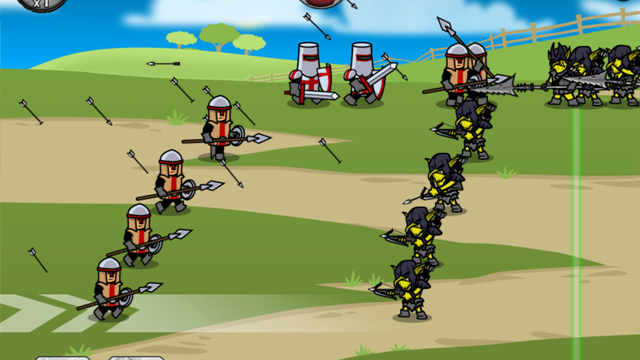 Instead Of Defending Your Castle, Go Out And Plunder The Battle Fields With Your Warmongers