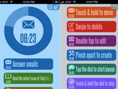 Colorful 30/30 App Arrives For iOS