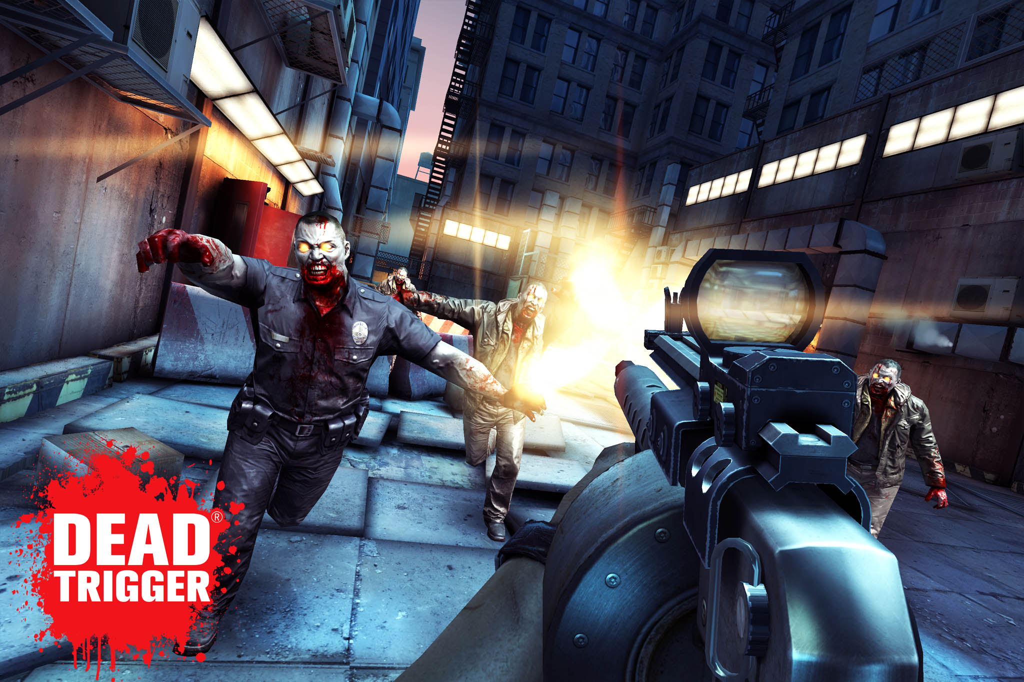 Prepare For Console Quality FPS Zombie Slaughtering In Dead Trigger