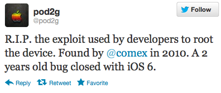 Apple Closes 2-Year-Old Jailbreak Exploit With iOS 6
