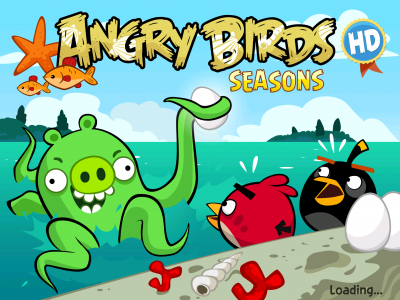 Angry Birds Seasons Plunges Into Piglantis