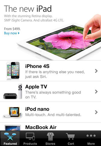 Apple Store App Adds Express Checkout And Location-Based Pick-up Notification