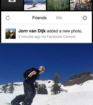 Facebook Camera Update Brings Better Performance And New Screen Name
