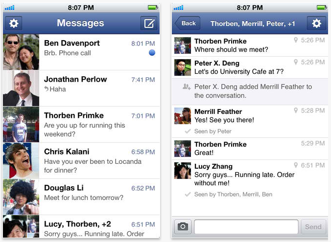 Facebook Messenger Update Delivers In-App Notifications And More