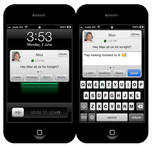 Jailbreak Only: Quick Reply For WhatsApp - Does Exactly What It Says On The Tin