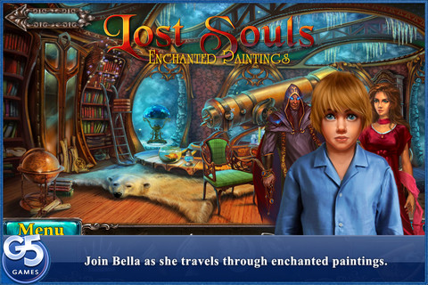 Lost Souls: Enchanted Paintings - A New, Spooky iPhone Game Available Now