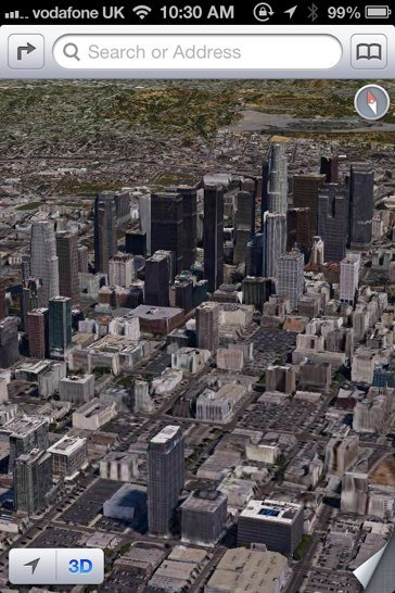 A Russian Hacker Has Ported iOS 6's 3-D Maps To An iPhone 4 Handset