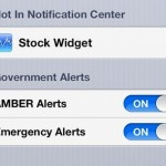In iOS 6, Apple Has Added Push Notifications For Government Alerts