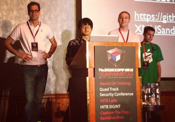 Check Out The Jailbreak Dream Team's Hack In The Box Conference Presentation