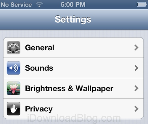 Apple Launches All-New Privacy Section Of Settings App In iOS 6