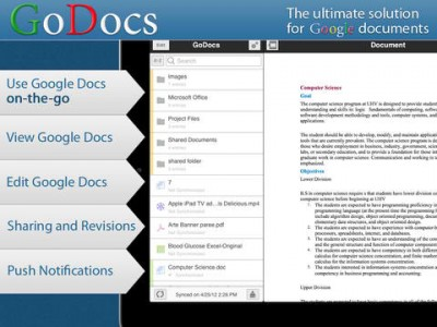 GoDocs For Google Docs Gives Public Sharing And Other Features A Go