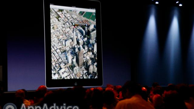 Apple's Native iOS Maps App Gets A 3-D Facelift