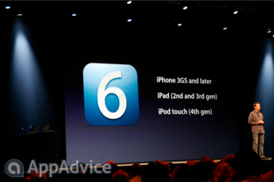 Apple Releasing iOS 6 Beta To Developers Today