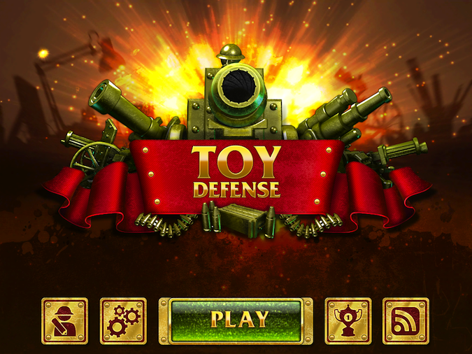 Quirky App Of The Day: Toy Defense
