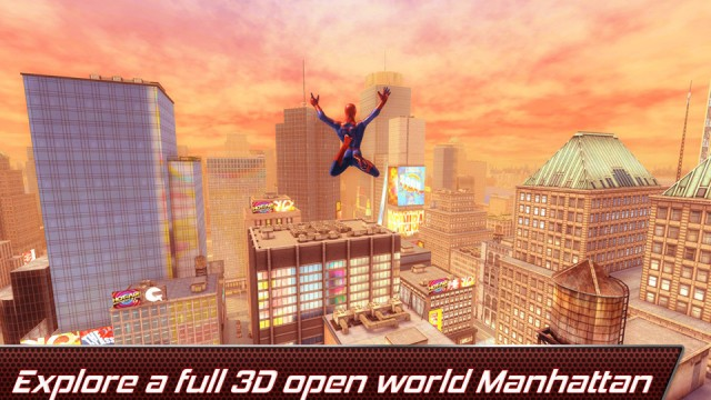Gameloft Launches The Amazing Spider-Man