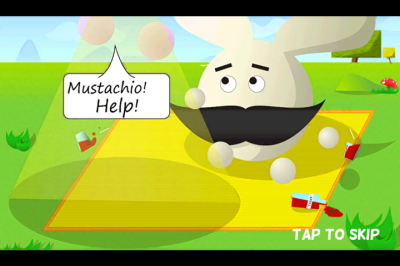 Mustache To The Rescue In Mustachio: The Adventure