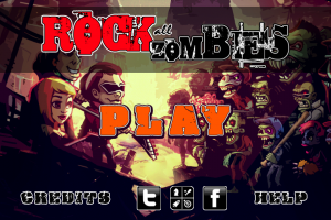 Rock All Zombies by IBA Games screenshot