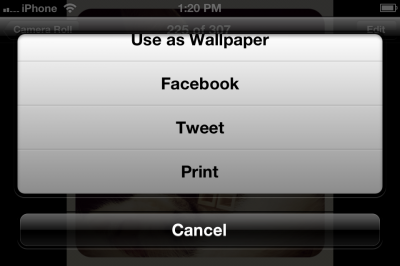 Jailbreak Only: FacebookThis Brings Facebook Photo Sharing To iOS 5